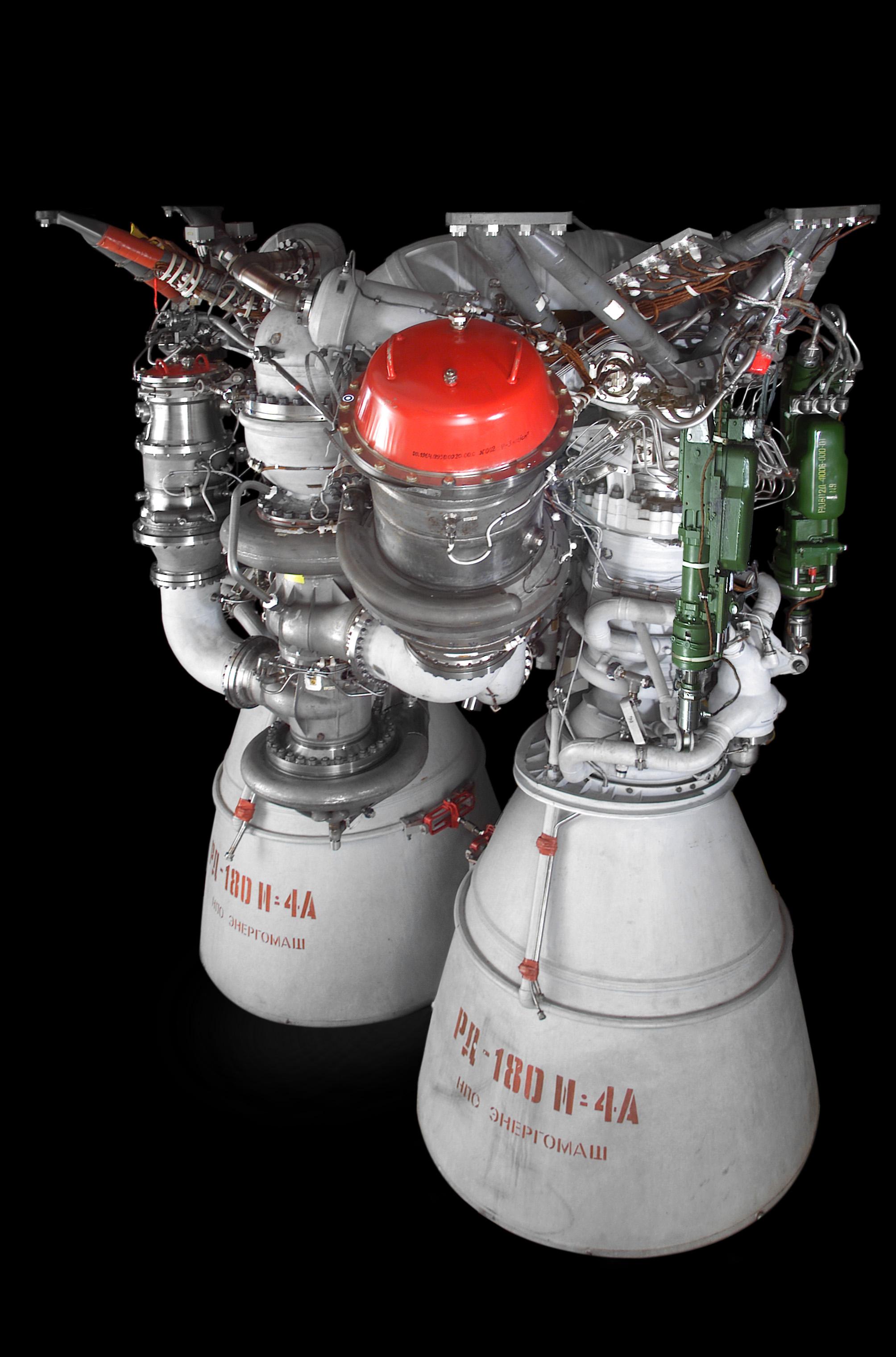 Il motore RD-180 prodotto in Russia