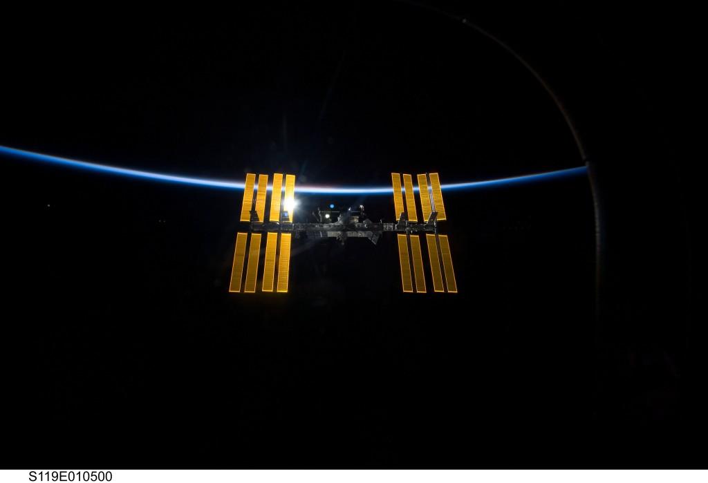 ISS_dawn