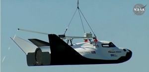 """Primo test in volo """"captive"""" per il Dream Chaser. (c) SNC"""