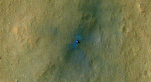 Curiosity visto da MRO