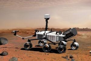 Il rover Curiosity attualmente sulla superficie di Marte (Credit: NASA)