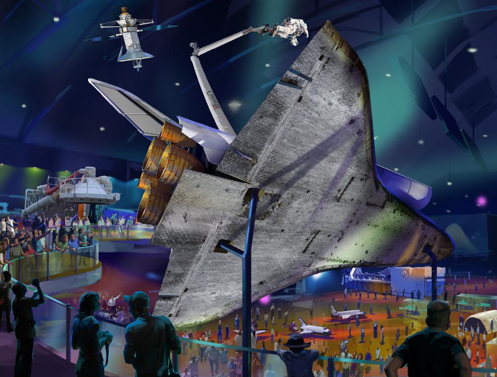 Atlantis Exposition Concept
