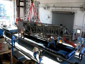 SLS Umbilical Arm Loading