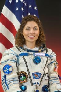 Anousheh Ansari, la prima turista spaziale. Fonte: NASA