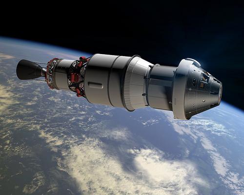 Un'immagine artistica dell'EFT-1