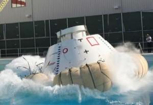 Test di ammaraggio di CST-100 (C) Boeing