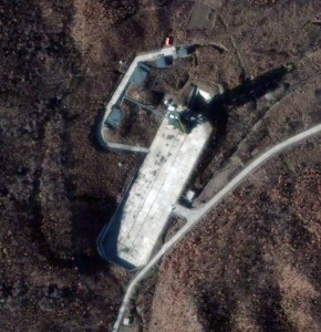 Satellite Image of the Sohae Launch Facility, North Korea