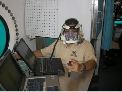 Un dispositivo PUMA è stato testato anche nell'habitat marino Aquarius durante la missione NEEMO-12 nel 2007 (C) NASA