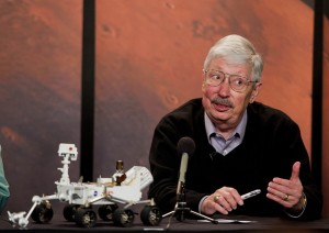 Pete Theisinger, project manager sia dei Mars Exploration Rovers che di Mars Science Laboratory. (c) NASA