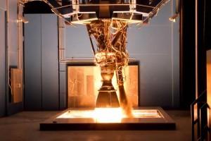 Test di accensione per il Merlin 1D. (c) SpaceX