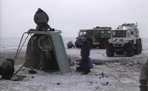 Le condizioni meteo sul sito di atterraggio della Soyuz TMA-06M. (c) NASA/Roscosmos