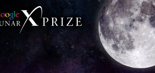 Il Logo del Google Lunar X PRIZE: Fonte: X PRIZE Foundation