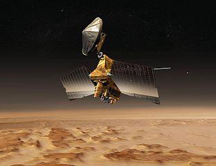 Rappresentazione artistica di MRO. Credit: NASA