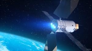 Rendering artistico di un sistema di propulsione elettrica solare. (c) NASA