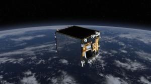 Rendering artistico del satellite Proba-V. (c) ESA-ATG Medialab