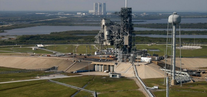 Il pad 39A del Kennedy Space Center all'epoca del programma STS Credits: NASA