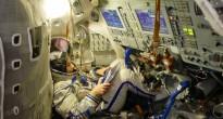 Samantha Cristoforetti in un simulatore Soyuz a Star City. Fonte: Samantha Cristoforetti