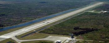SLF - Shuttle Landing Facility presso il Kennedy Space Center in Florida (Credits: NASA)