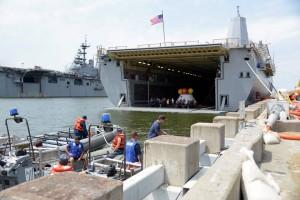 Il ponte inferiore della USS Arlington