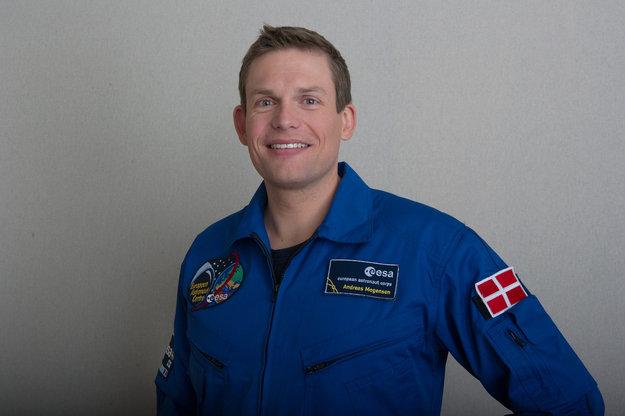 Andreas Mogensen (Credits: ESA - P. Sebirot)