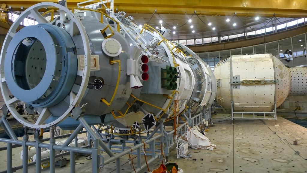 Mockup di MLM all'Hydrolab di Star City. Fonte: Samantha Cristoforetti