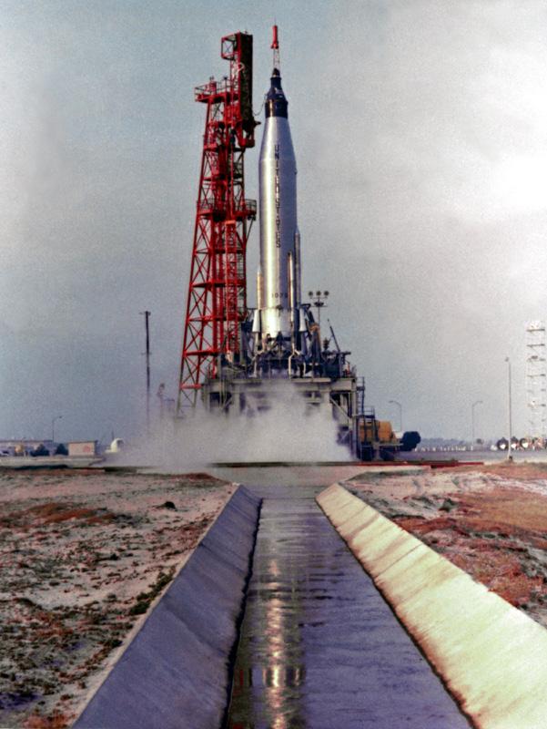 Il lancio della Mercury-Aurora 7/MA7 (C) scottcarpenter.com