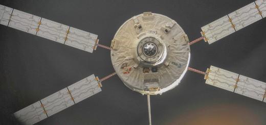 ATV-4 Albert Einstein lascia la ISS. Fonte: NASA/ESA