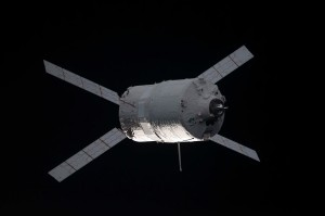 Un cargo ATV in avvicinamento alla ISS. Fonte: NASA