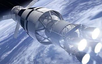 Ipotesi di LUS con 4 motori RL-10 C2. Credits: NASASpaceFlight, NASA, Boeing