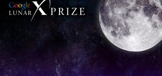 Il logo del Google Lunar X PRIZE. Fonte: Google/X PRIZE Foundation