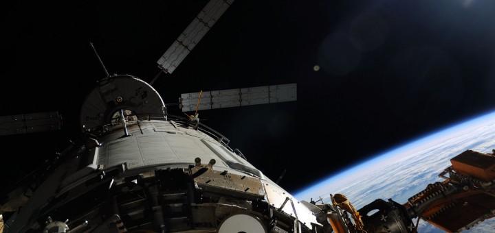 La fase finale dell'avvicinamento dell'ATV-4 Albert Einstein. Fonte: NASA