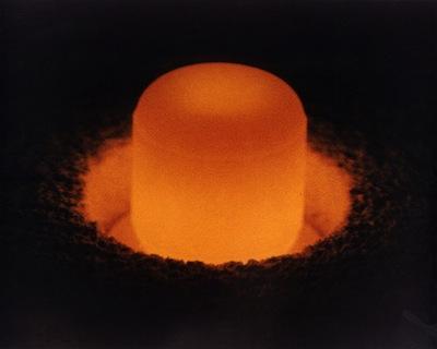 Foto d'archivio di un pellet di plutonio-238. Credits: Dipartimento dell'Energia degli USA