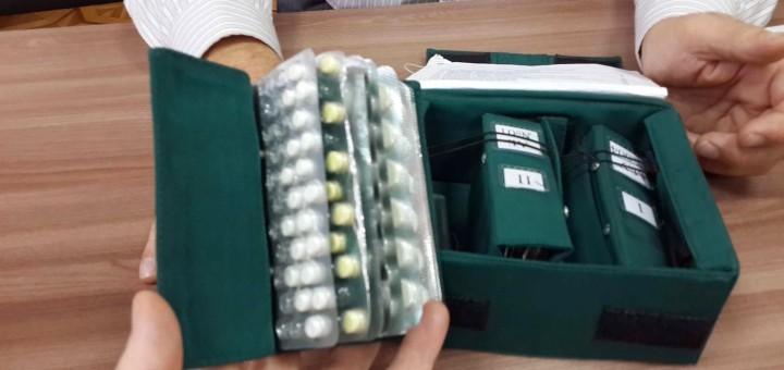 La cassetta dei medicinali della Soyuz. Fonte: Samantha Cristoforetti