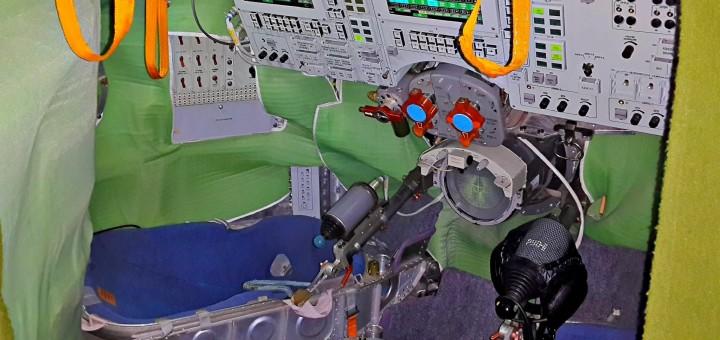 Il simulatore di docking Soyuz a Star City. Fonte: Samantha Cristoforetti