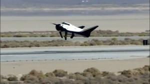 Il Dream Chaser durante le fasi di atterraggio. Credits: Sierra Nevada Corp.