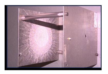 Un esempio Whipple Shield. Prende nome dal suo ideatore. (C) NASA