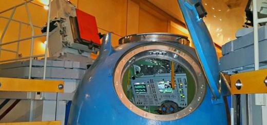 Il simulatore di volo manuale Soyuz a Star City. Fonte: Samantha Cristoforetti