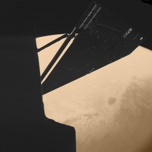 Marte ripreso da Rosetta durante il flyby. (c) ESA