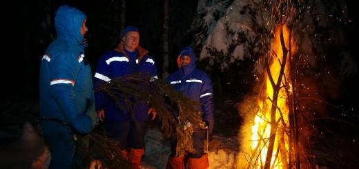 L'addestramento alla sopravvivenza invernale di Samantha Cristoforetti. Fonte: Gagarin Cosmonaut Training Center