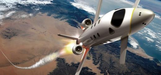 Immagine artistica dello spazioplano di Airbus Group. Credits: EADS