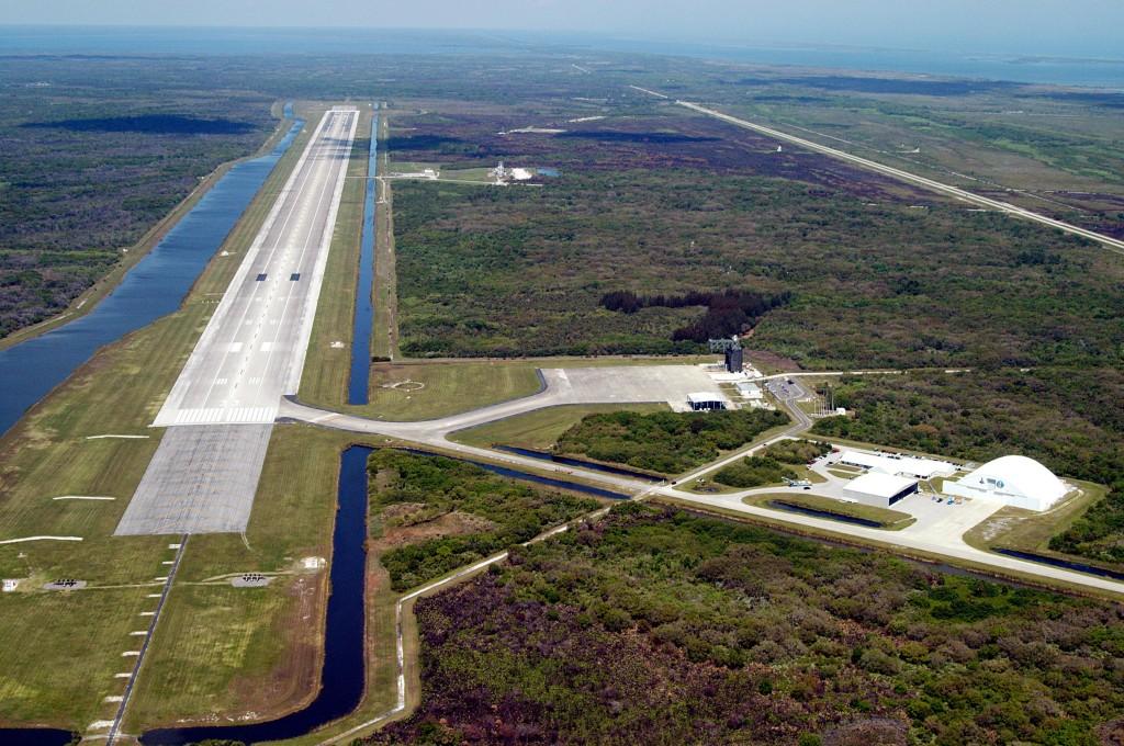 La Shuttle Landing Facility presso il KSC, Florida (C) S3.