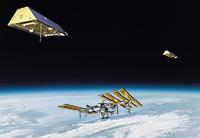 ISS con GRACE 1 e 2