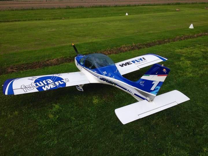 Un velivolo ultraleggero del WeFly! Team. Credit: WeFly! Team