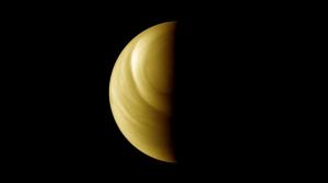 Ripresa dell'atmosfera di Venere dalla sonda Venus Express. (c) ESA/MPS/DLR/IDA, M. Pérez-Ayúcar & C. Wilson