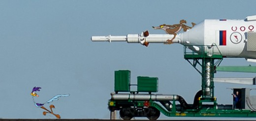Rubata la Soyuz. Credit: Riccardo Rossi