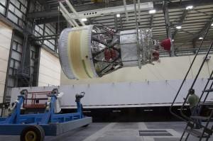 L'upper stage del Delta IV Heavy