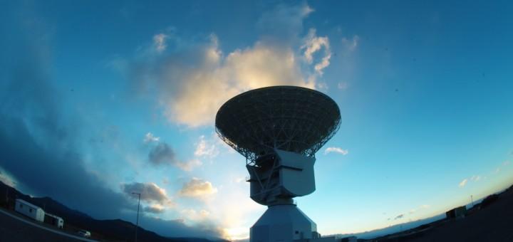 L'antenna DSA 3 della stazione di tracking ESA di Malargüe. Credit: ESA