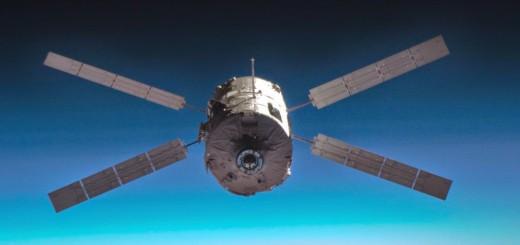 ATV-1 Jules Verne. Credit: NASA