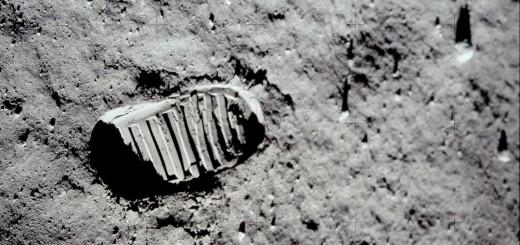 Un'impronta lasciata da Buzz Aldrin sul suolo lunare in Apollo 11. Credit: NASA/Kipp Teague