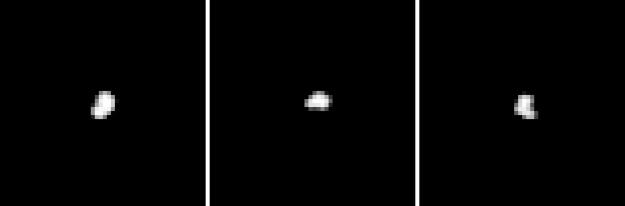 La cometa ripresa oggi 10 luglio.